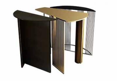 Majd Bazerji, le design: une sculpture avec utilité