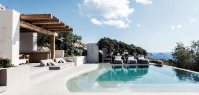 À Mykonos: Architecture des Cyclades.
